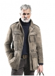 Deerskin Cruz coat for men from Meindl