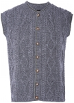 Traditional men veste handknitted