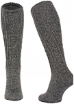 Handknitted knee socks