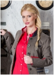Classic brown jacket for women from Kaiserj�ger.