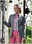 Traditional grey coloured longjacket from Kaiserj�ger
