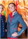 Women�s jacket of grey jersey from Kaiserj�ger