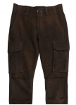Deer leather trousers Long Island from Meindl.