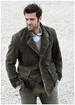 Tundra jacket for men of goatskin leather from Meindl