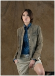 Marie Theresa goat leather jacket for woman from Meindl.