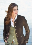Marie-Claire jacket made of deerleather.