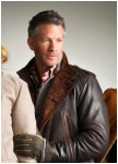 A lambskin leather jacket Nashville for men from Meindl
