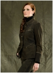 Noble woman\'s deerleather Ru�bach jacket from Meindl.