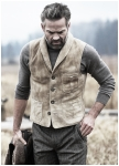 Ranger mans vest made of deer-leather from Meindl.