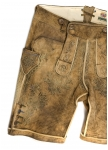 Leather trousers Kaiser Franz from Meindl.
