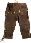 Leather knickerbockers Feistritz from Meindl.