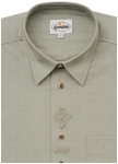 Traditional shirt with fine embroidery from Aum�hle.