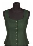 Traditional loden vest Desiree from Allwerk AT.