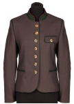 Traditional Jacket Monika in anthracit and brown Allwerk AT.