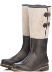 Warm boot with real fur linning from Dirndl und Bua.