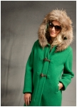 Bell-shaped SuperlightWalk coat from Geiger