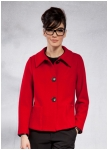 Short red SuperlightWalk jacket from Geiger