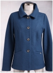 Elegant superlight boiled wool jacket from Geiger.