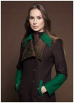 Coat with regimentals style elements from Geiger.