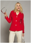 Fashionable jacket from Geiger in red