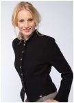 Short boiled wool jacket from Geiger.