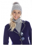 Knitted vest in four colours from Geiger