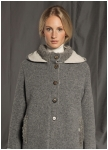 Outdoorjacket from doubleface boild wool from Geiger