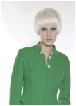 Boiled whool jacket in green from Geiger.
