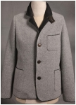 Fashionable wool longjacket from Geiger