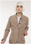 Boiled wool jacket from Geiger.