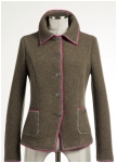 Fashionable jacket from Geiger in nougat brown