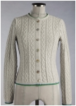 Knitted cardigan from Geiger.
