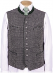Vest with stand up collar from Grasegger