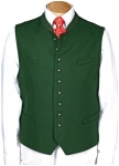 Dark green vest for many occasions from Grasegger.