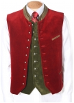 Stams velvet vest in many colors.