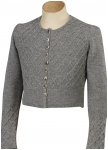 Lined knitted veste for women from Grasegger