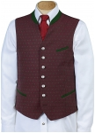 Xander vest with stand up collar from Grasegger