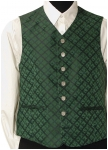 Noble green waist coat with silk from Kaiserjäger