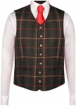 Checked waist coat for men from Kaiserjäger
