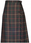 Long checked kilt from Kaiserjäger