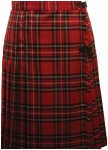 Attractive knie-length ladies kilt