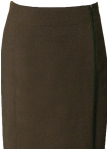 Dressy long brown skirt from Kaiserj�ger