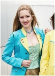 Cyan woman frock-coat  from Kaiserj�ger