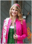 Traditional jacket in pink from Kaiserj�ger
