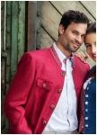 Men�s jacket in pink from Kaiserj�ger