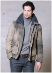 Classic Car deer skin leather jacket from Meindl.