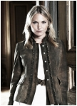 Colette goatskin jacket for woman from Meindl.