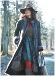 Extraordinary long coat from Meindl