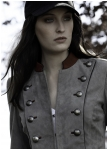 Constable goatskin leather jacket for women from Meindl
