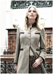 Guiletta longjacket from linen von Meindl
